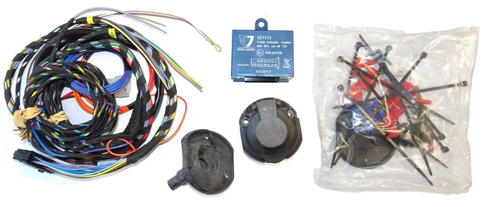 Elektrosätz 7-poligem universal TopTronic mit CheckControl ohne Datenbus